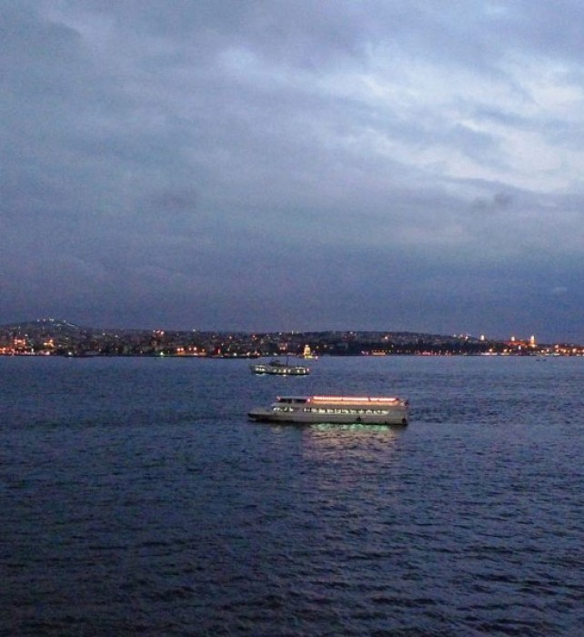 Sunset at the Bosporus.