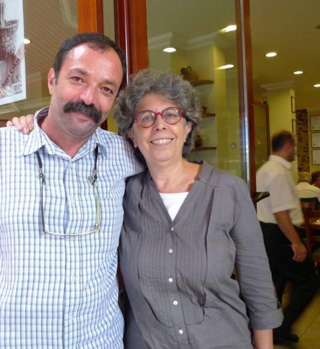 Musa Dağdeviren and Marianna Gerasimos