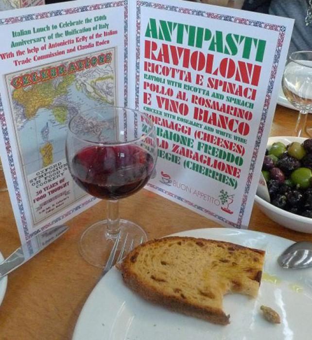 Italian Risorgimento lunch