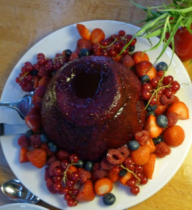 More Summer pudding.