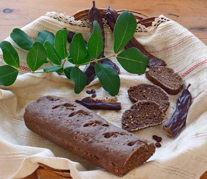 Imagini pentru carob bread