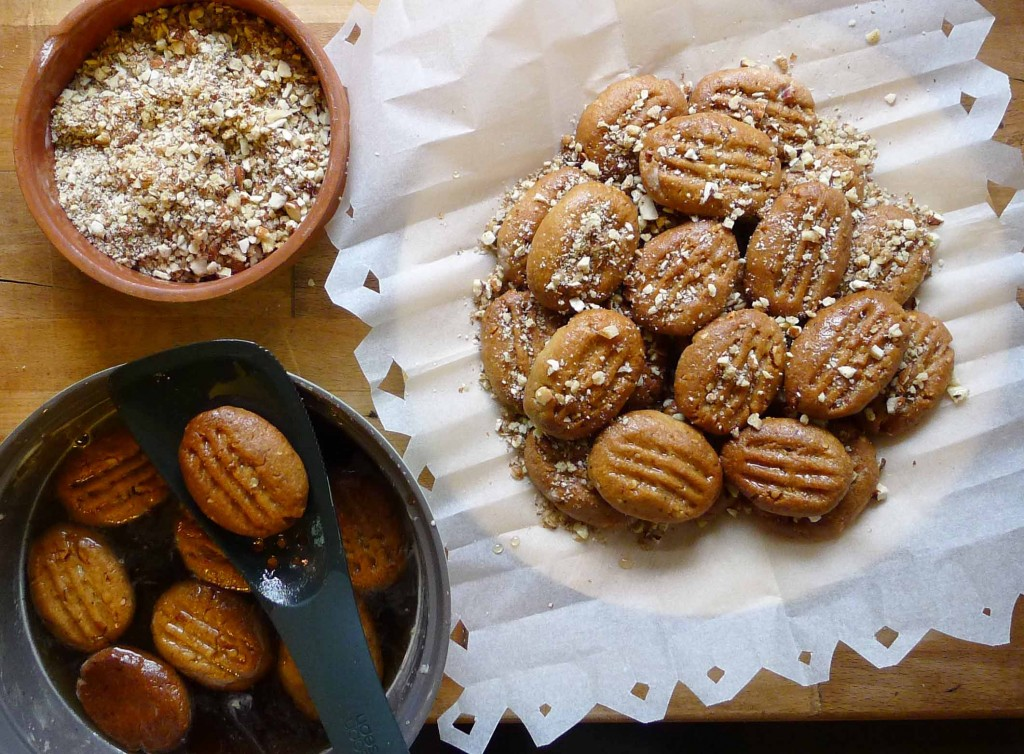 Melomakarona Honey Infused Olive Oil Orange And Spice Cookies