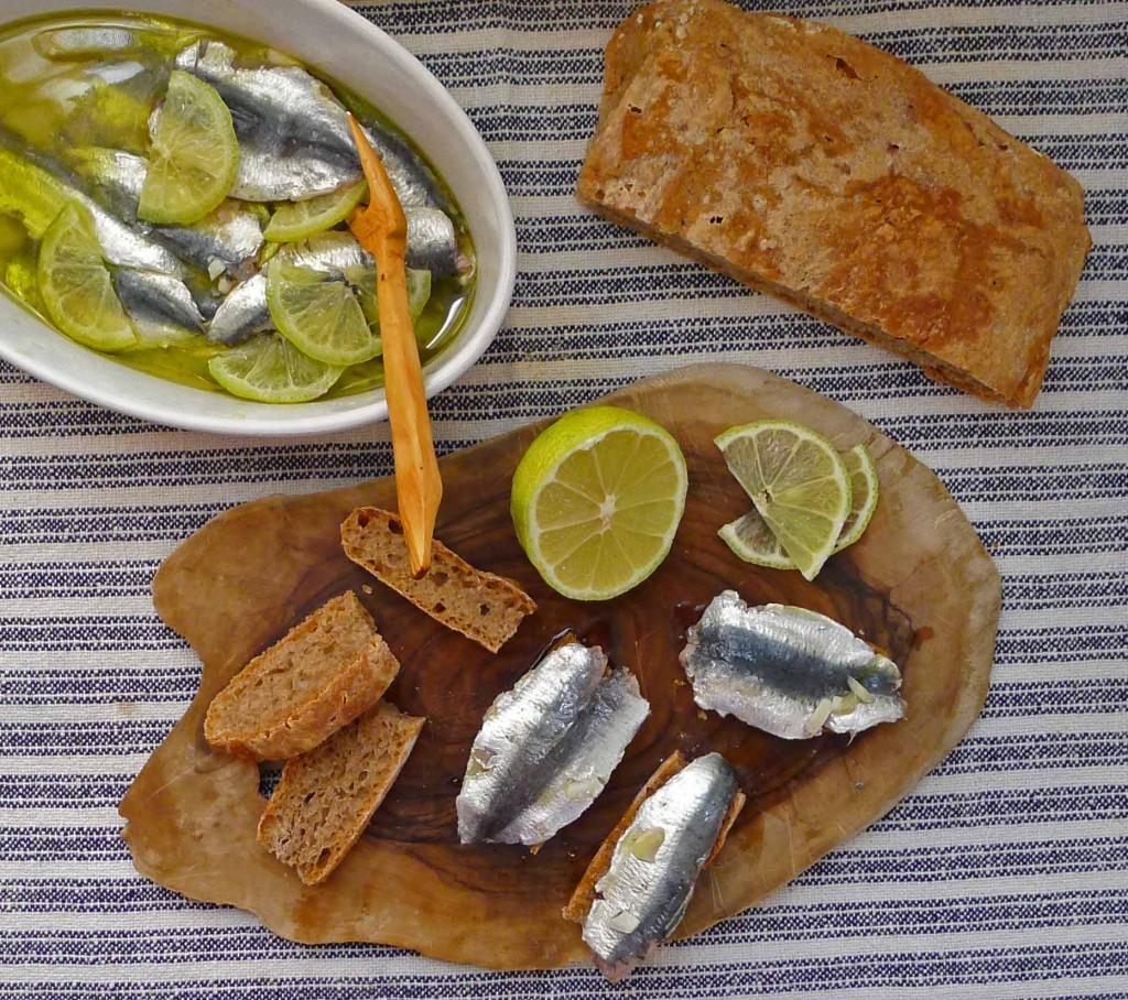 Sardines & bread1 S