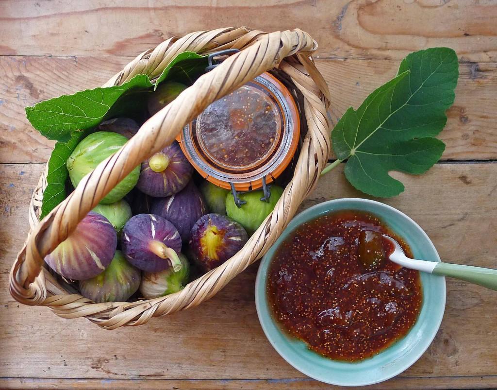Fig Jam 2 bowl & basket S