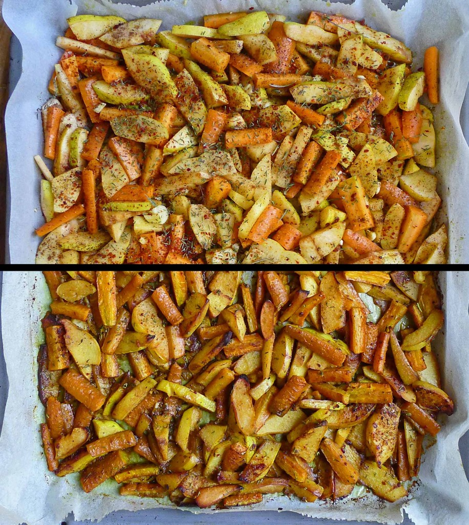 Quince Carrot Baked & UN S