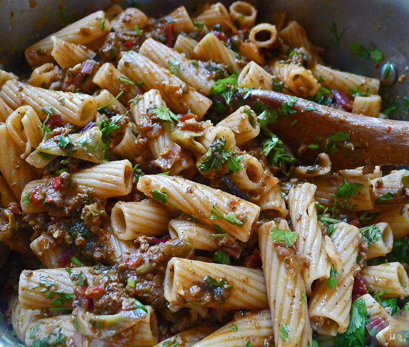 Pasta-Spicy-Meat-Sauce-Sw